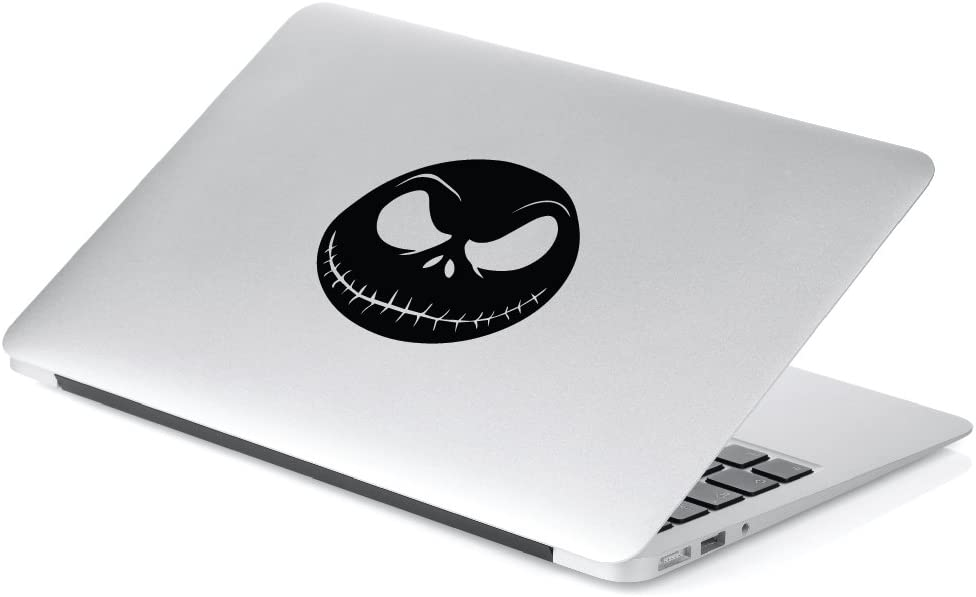 Laptop Walls Yoonek Graphics Jack Skellington from Nightmare Before Christmas Decal Sticker for Car Window 6 x 6.5, Black Mirror and More SKU: 488 Motorcycle