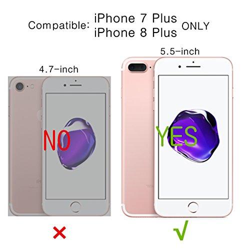 86ad0a5fe01 Basecent iPhone 8 Plus Case iPhone 7 Plus Wallet Case for Men