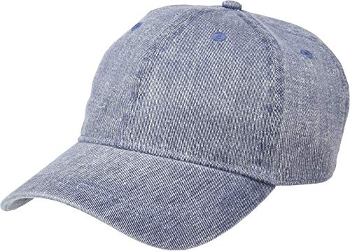 (Michael Stars Women's Joey Washed Baseball Cap, Indigo, One Size)