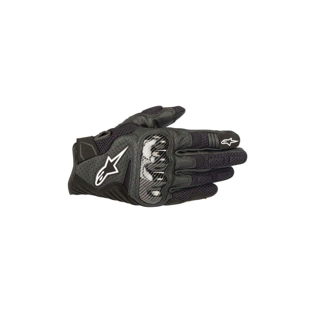 Alpinestars SMX-1 Air Men's Street Motorcycle Gloves - Black/Large by Alpinestars