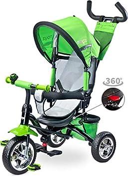 Triciclo Silla giratoria Modelo Timmy en Verde
