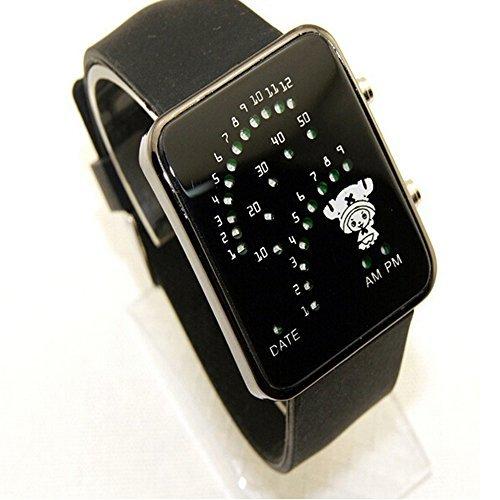 R-Timer una pieza Chopper LED Digital reloj de pulsera regalo de accesorios de cosplay (negro) B #: Amazon.es: Relojes