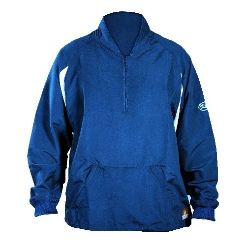 GSM Outdoors LS1432-A-RY-XL Louisville Adult Slugger Batting Cage Pull-Over Long Sleeve, X-Large, Royal