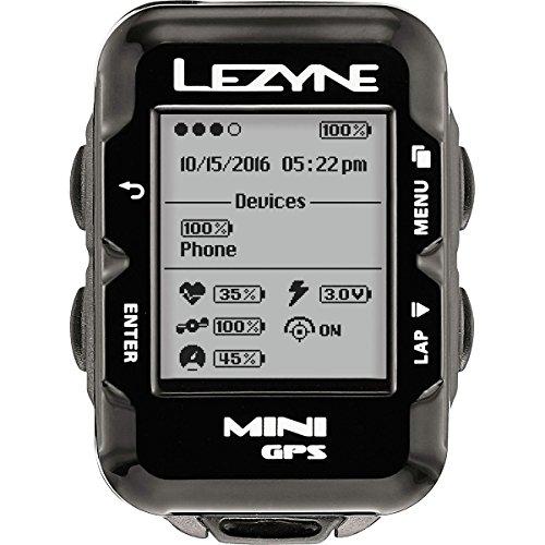 Lezyne Mini Gaps Hrsc Loaded GPS, Black, One Size
