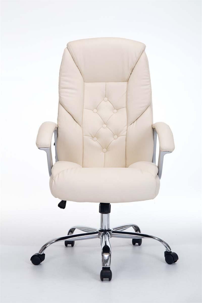 CLP Fauteuil de bureau XXL RODEO - poids admis 210 kg - rembourrage Épais - rÉglable en hauteur - fauteuil ergonomique