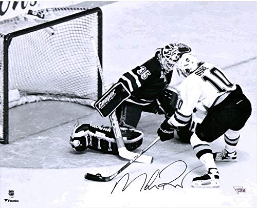 Mike Richter New York Rangers Autographed 16