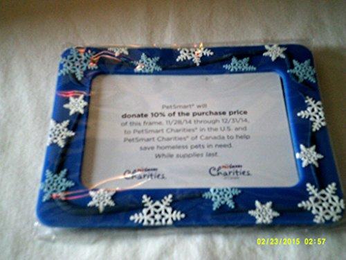 petsmart-christmas-snowflake-pvc-picture-frame