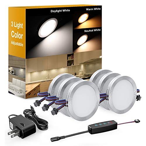 Under Cabinet Led Puck Light Kit in US - 8