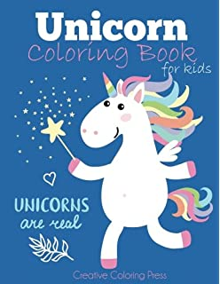 Unicorn Coloring Book For Kids Magical Girls Boys And