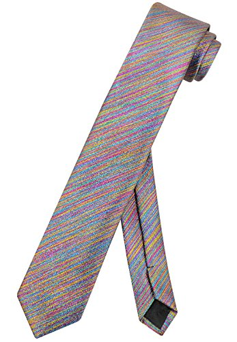 Spectrum Thin - Vesuvio Napoli Narrow Necktie Metallic SPECTRUM 2.5