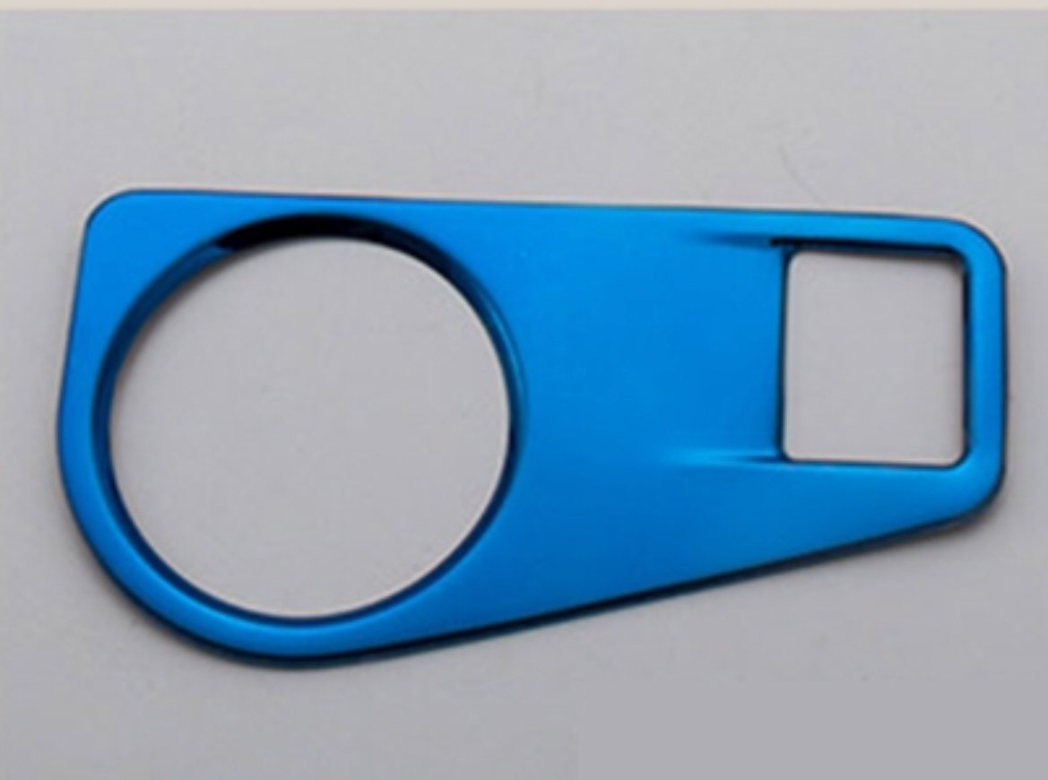 FFZ Parts Lichtschalter Blende Abdeckung Blau Passend F/ür Tiguan 2 AD1 Rline TDI TSI