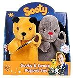 Sooty - Sooty le Magicien et Sweep - Set 2 Marionnettes à Main