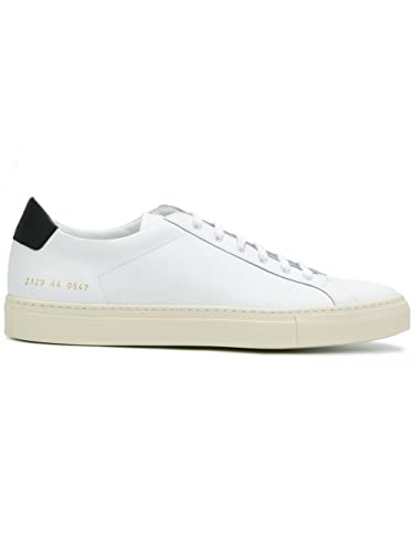 COMMON PROJECTS HOMME 21290547 BLANC CUIR BASKETS ZK3HnkeVm
