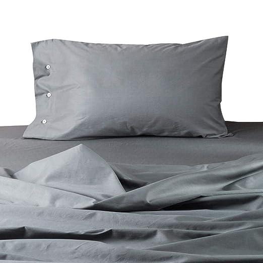 2 fundas de almohada de algodón transpirable, protección del ...