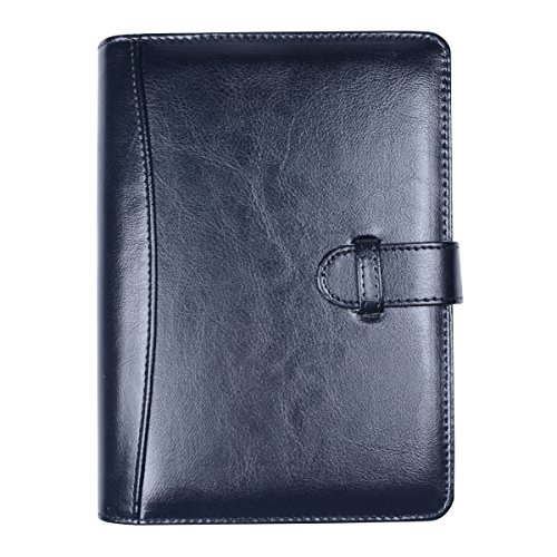 Business Leather Portfolio Professional Removable
