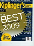 img - for Kiplinger's Personal Finance December 2009 Special Issue The Best of Everything 2009 book / textbook / text book