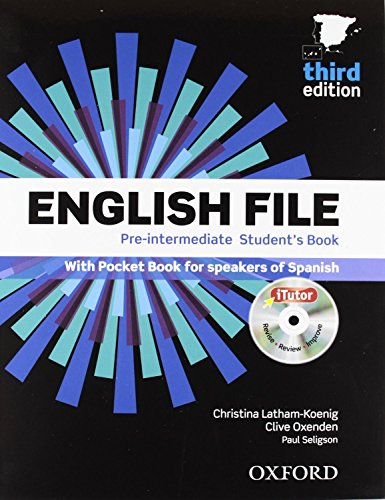 English File Pre-Intermediate. Student's Book And Workbook Without Key Pack - 3Rd Edition