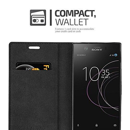 Cadorabo - Funda Book Style Cuero Sintético en Diseño Libro para >                                      Sony Xperia XZ1 COMPACT / XZ1 MINI                                      <