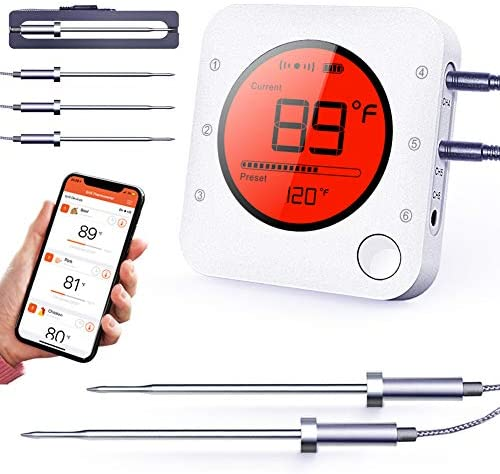 Thermometer Bluetooth Wireless Upgraded Stainless