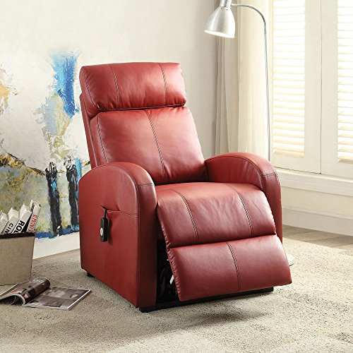 ACME Furniture 59406 Ricardo Recliner with Power Lift, Re...