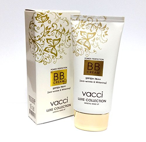 [VACCI] Luxe Collection BB Cream 40ml X 1ea / SPF 50+ PA++ / Anti Wrinkle, Whitening / Korean Cosmetics