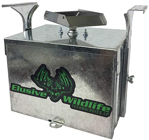 Elusive Wildlife Premium 12 Volt Feeder Control Box with The Timer (Galvanized)