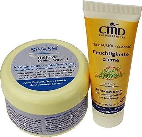 Naturset para Tratamiento contra acné, Espinillas, impuro, piel grasa: mascarilla facial de