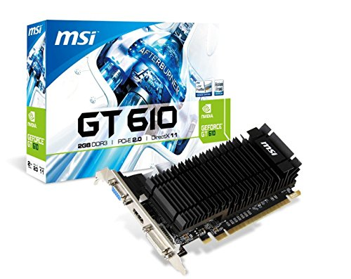 UPC 816909104233, MSI Computer Video Graphics Card N610-2GD3H/LP