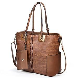Women's Handbags Purses Shoulder Bags With PU Leather Fashion Tote Satchel Bag Wallets