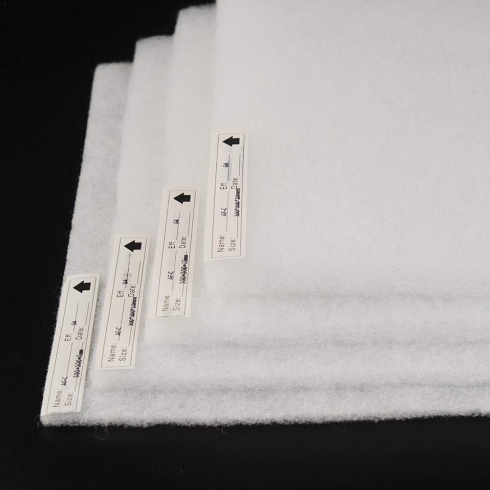 Prefiltro de purificador de agua de carb/ón activado,filtro de aire acondicionadoPapel prefiltro de red de polvoFiltro de polvoPrefiltro Pa/ño de vac/íoPapel de purificaci/ón de aire100 cm 100 cm 3 mm
