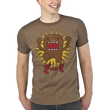 Product Image Licensed Domo Mocha Hthr Tee - M