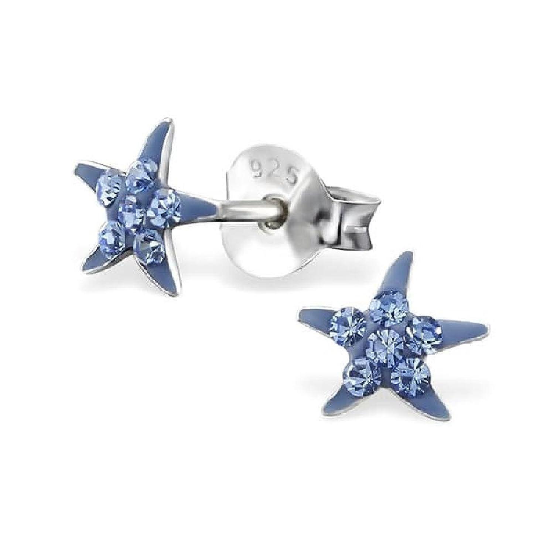 So Chic Joyas - Pendientes Estrellas de mar Niños Plata 925