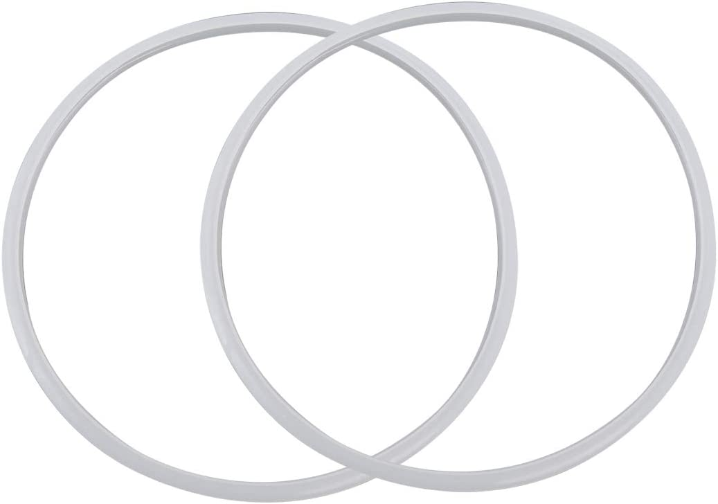 Sydien 2pcs Power Cooker Silicone Sealing Ring for 28cm ID Pressure cooker