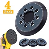NYTiger 4 Packs 5 inch 8 Hole Hook and Loop Replacement Sanding Pad for DeWalt DWE64233 & N329079 Compatible with DWE6423/6423K, DWE6421/6421K, DWE6421-B2, DWE6421-B3, DWE6421-BR, DCW210B (4 Packs)