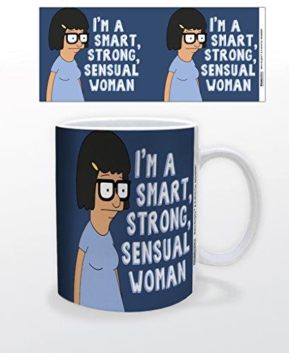 Bobs Burgers Tina Im A Smart Strong Sensual Woman Coffee 11oz Ceramic]()
