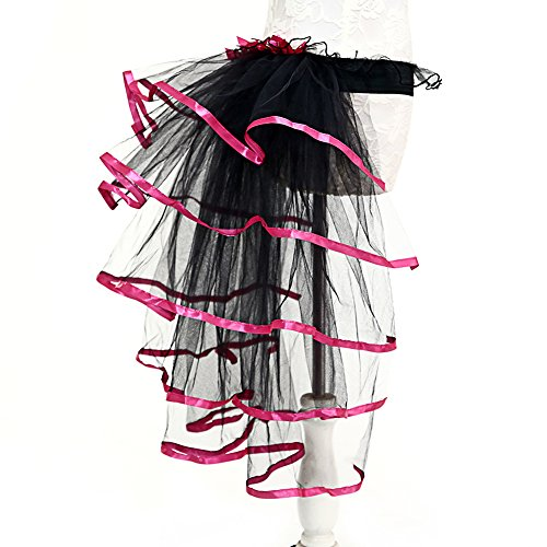 [Adult Organza Tutu Party 5 Layered Ballerina Skirts for Dancing and Performance] (Plus Size Ballerina Costumes)