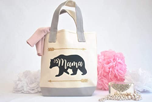 purse bear Mama Bear crossbody bag gifts under 20 reusable bags Mom gift Mother/'s Day cross body bag custom bag gift for mom bag