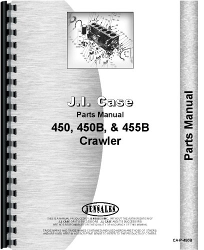 Read Online Case 450B Crawler Parts Manual PDF