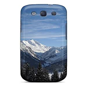 S3 Scratch-proof Protection Case Cover For Galaxy/ Hot Beautiful Mountain View 2 Phone Case