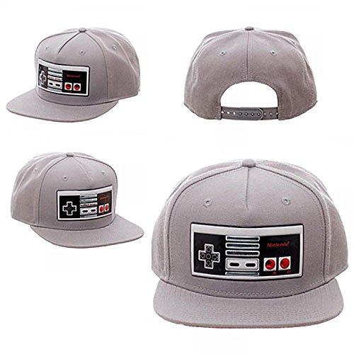 nintendo-controller-chrome-weld-snapback-hat