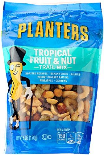 Planters Trail Mix Energy Mix (Planters Trail Mix, Tropical Fruit & Nuts, 6 oz Bag)