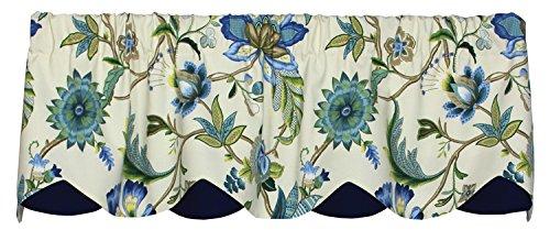 Azahar Lined Layered Petticoat Valance Curtain 52