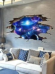 FEICHANG Papel de parede 3D à prova d'água para decoração de teto, estrelas, galáxia, mural de parede, dec