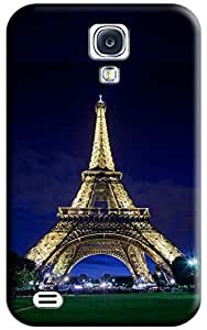 Eiffel Tower and Night Hard Back Shell Case / Cover for Galaxy S4