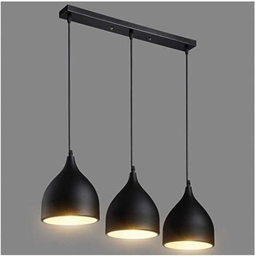 LANZHEN-RY Araña Lámpara de Techo Mesa de Comedor Gloss Loft ...