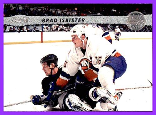 - 2001-02 Stadium Club #99 Brad Isbister NEW YORK ISLANDERS