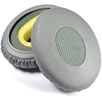 Replacement Earpad ear pad Cushions For Bose ON EAR OE2 OE2i Headphones (GREY) With IT IS Logo Headphone Cable Cord Clip