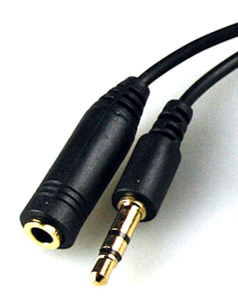 Auriculares Alargue Cable alargue con regulador volumen 1m Audio-Cable alarge 3,5mm clavijas enchufe /acople estéreo: Amazon.es: Electrónica