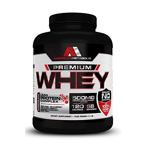 American Whey Protein - American Metabolix Premium Whey Protein, Vanilla, 2 Pound