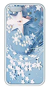 Blue Stars - iPhone 5S Case Funny Lovely Best Cool Customize White Cover